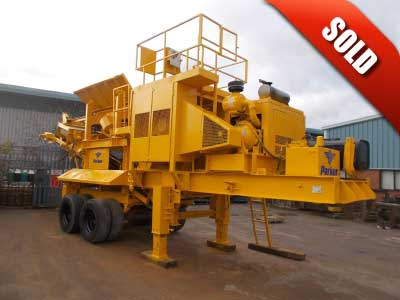 Parker RW 0850 DH Mobile Jaw Crusher